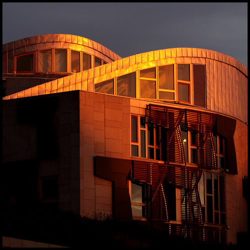 Holyrood Sunrise by Mike Bolam