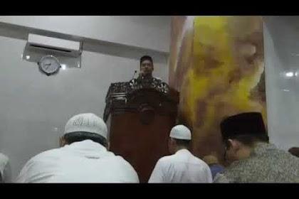 Dokumentasi Kultum di Masjid As Salam Landasan Ulin 7 Ramadhan 1440 H