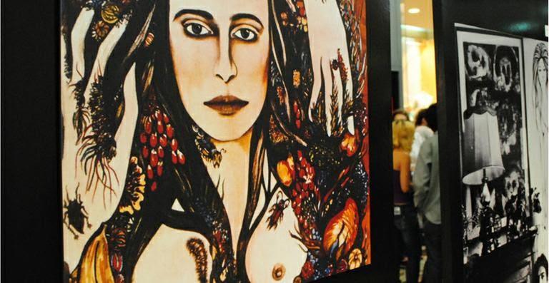 Capa censurada Maria Bethânia pode ser vista em exposição / Uran Rodrigues/Divulgação