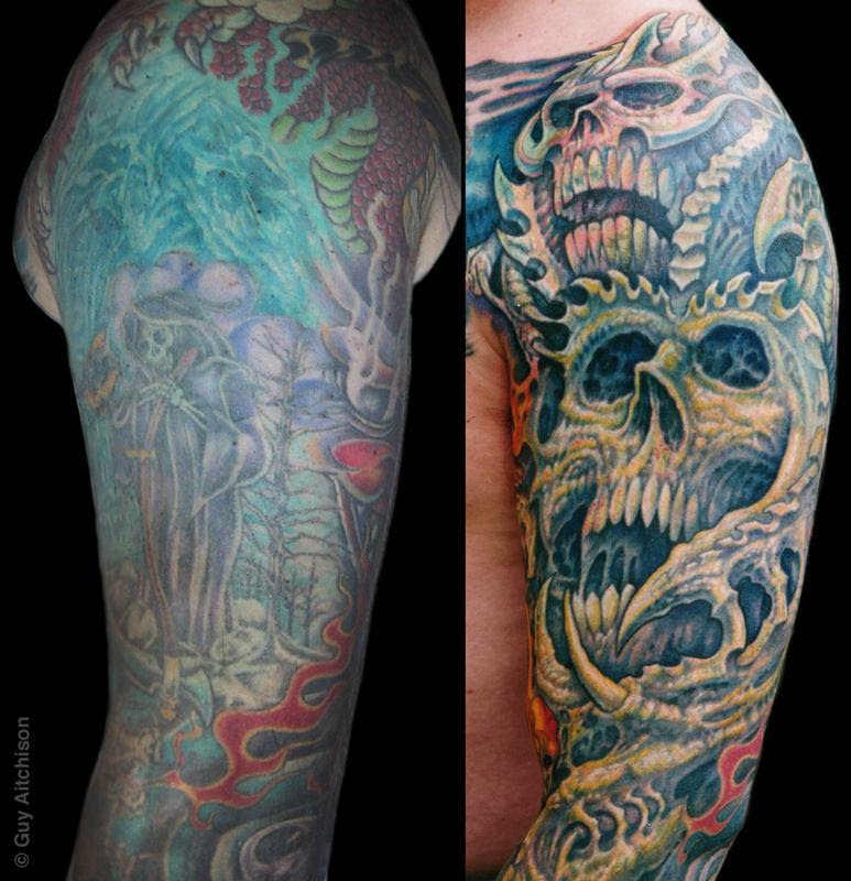 Arm Cover Up Tattoos For Men Best Tattoo Ideas