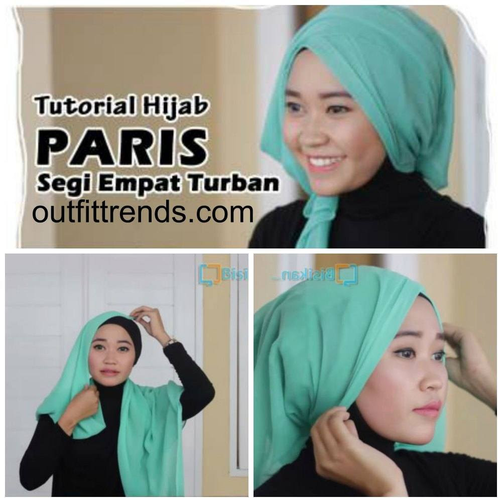 10 simple hijab paris tutorials you can do in less than a minute