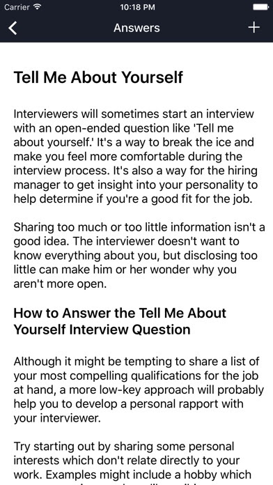 Job Interview Questions And Answers App Download - Android APK