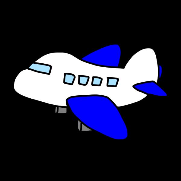 飛行機のイラスト かわいいフリー素材が無料のイラストレイン