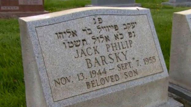 Tumba de Jack Barsky.
