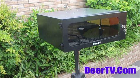 diy outdoor projector cabinet enclosure