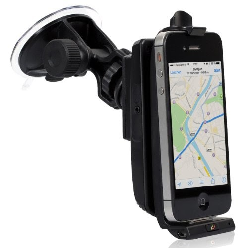 igrip support pour voiture made for iphone avec r cepteur gps sirf iii kit mains libres. Black Bedroom Furniture Sets. Home Design Ideas