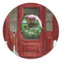 Holiday Door Sticker sticker