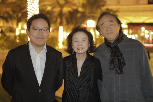 With the actress of Lee Chang dong's POETRY, Yun Jeong-Hee and her husband Paik Kun-Woo
