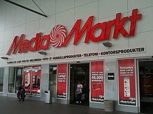 Media Markt at the shopping mall Högsbo 421 in...