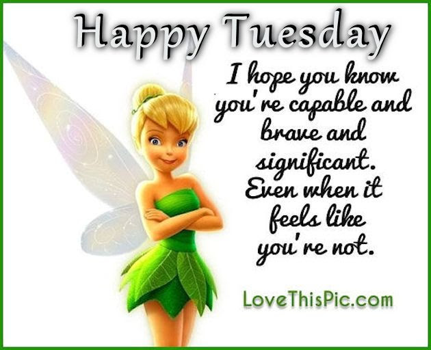 Tinkerbell Happy Tuesday Quote Pictures Photos And Images For