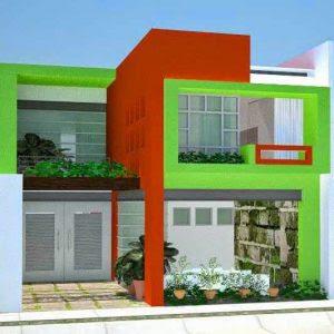 Warna Cat Rumah Bagian Luar yang Bagus Trend 2021