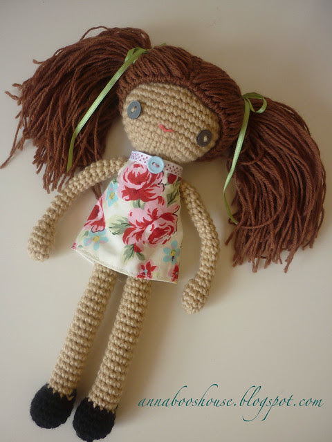 Crochet doll finished
