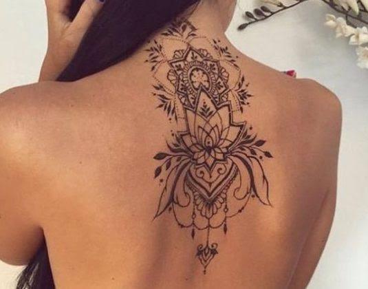 Tatuajes Para Dama En La Espalda