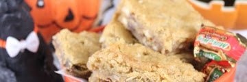 Halloween Candy Blondies Best Family Recipes