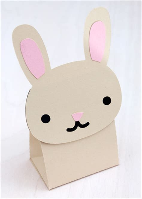 Bunny Treat   Favor Box Die Cut (SVG Included)