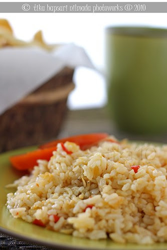 Nasi Goreng Teri / Fried Rice with Dried Whitebait