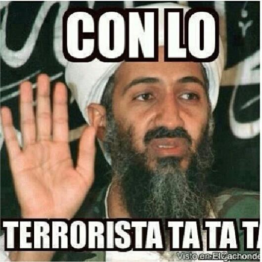 bin Laden Shake