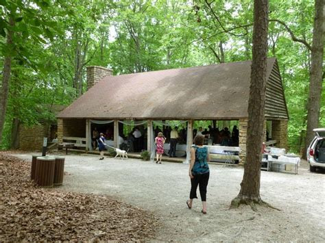 Exterior of picnic shelter #1 at the Reedy Creek entrance