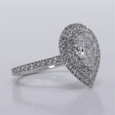 Double Halo Diamond Engagement Ring   The Brilliance.com Blog