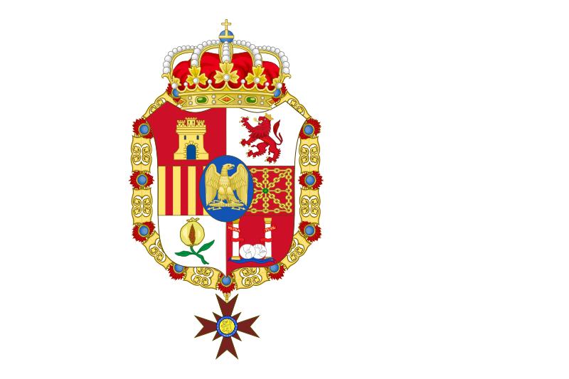 Fichier:Bandera de España 1808-1813.svg