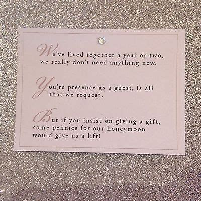 Details about 5 x Wedding Poem Cards For Invitations