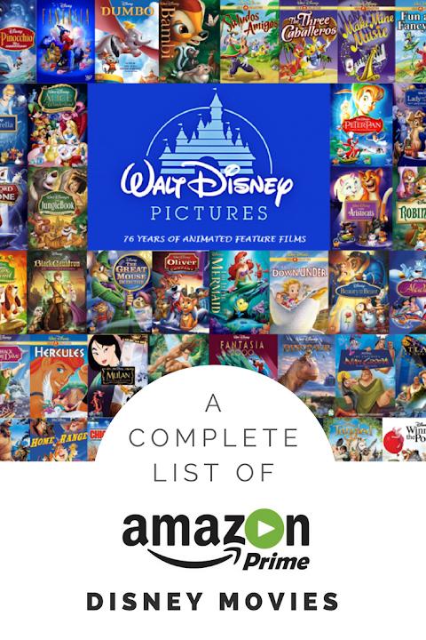 Disney Movies On Amazon Prime