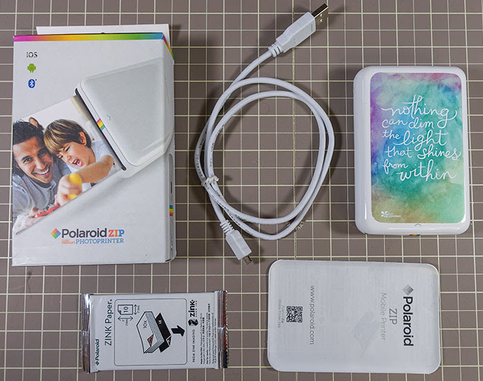 Review Demonstration Polaroid Zip Mobile Printer Pretty Neat