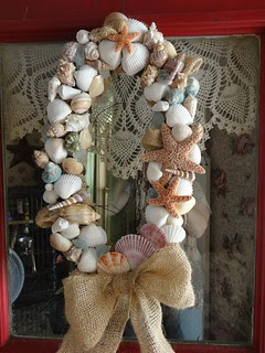 seashell wreath 1