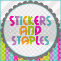 stickers and staples