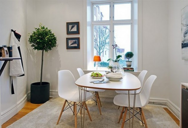 Dining Room Ideas Small Apartment