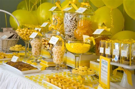 COCKTAILS & CUPCAKES  ?It was all Yellow? Bridal Shower