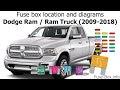48+ 2013 Dodge Ram 3500 Fuse Box Diagram Pictures