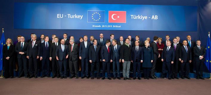 Η Ε.Ε ανοίγει την πόρτα στην Τουρκία για να φράξει τη ροή προσφύγων