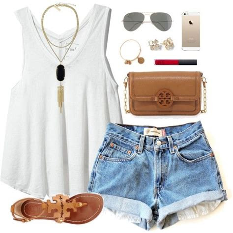 polyvore summer outfit ideas  pretty designs