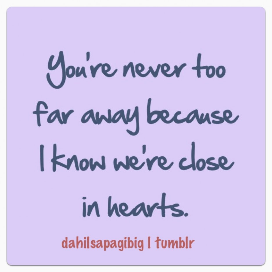 Quotes About Faraway Love 21 Quotes
