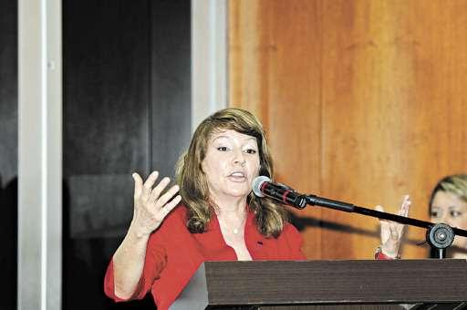 Lúcia Carvalho foi demitida da Secretaria de Patrimônio da União no DF (Carlos Moura/CB/D.A Press - 1/11/11)