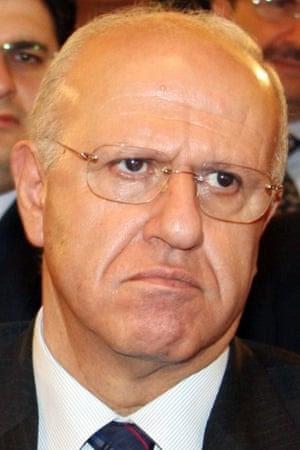 Lebanon's former information minister Michel Samaha