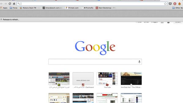 يمكن لمستخدمي جوجل كروم الإستفادة من هذه الميزة وتحديث صفحاتهم بنفس الطريقة على الحاسب