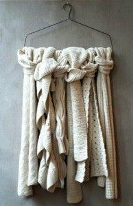 Wire hanger crafts ideas on Pinterest