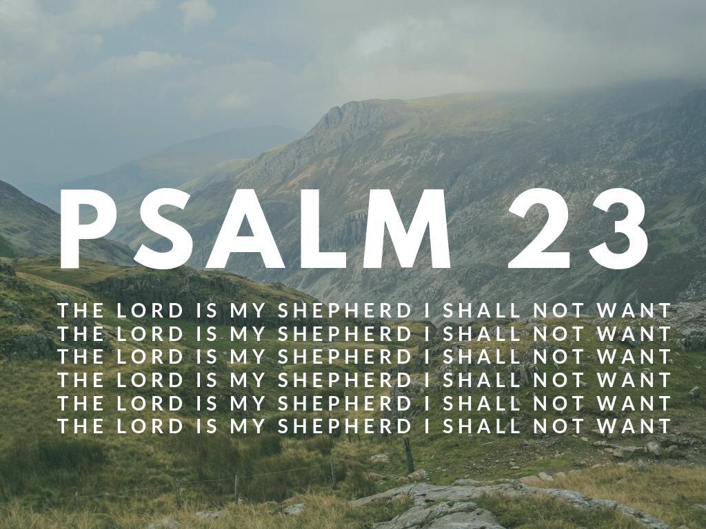 Marietta Sojourn Church Psalm 23 The Lord Is My Shepherd