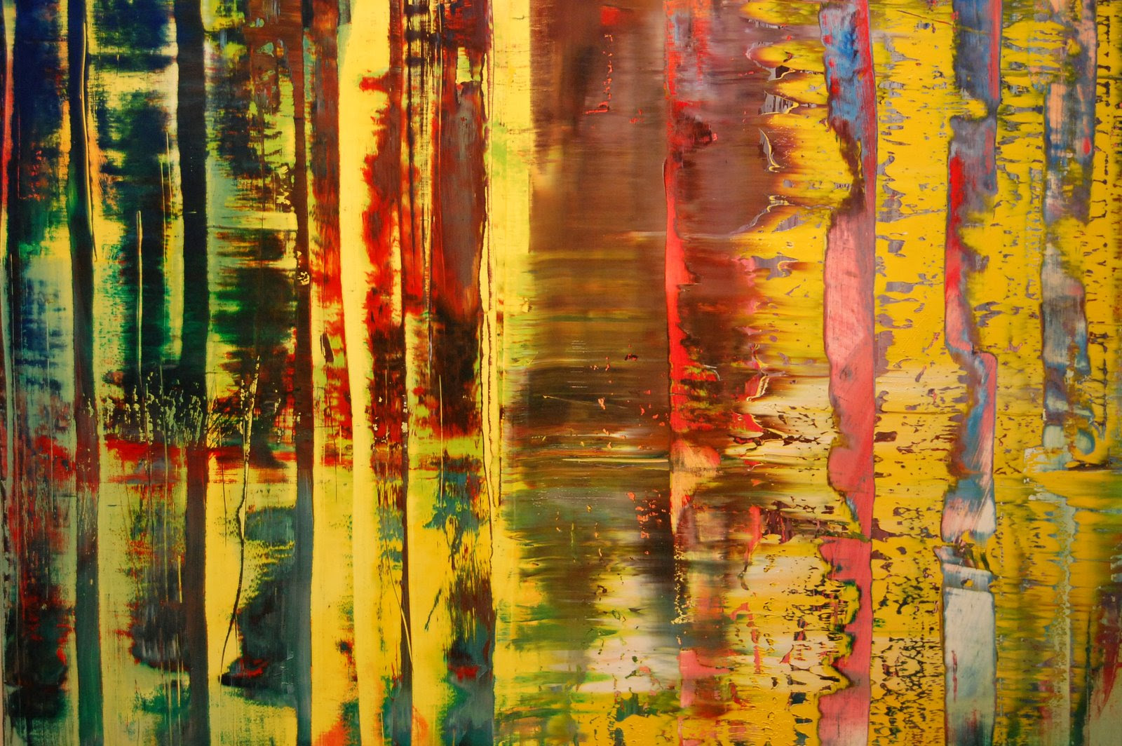 Gerhard Richter Abstract