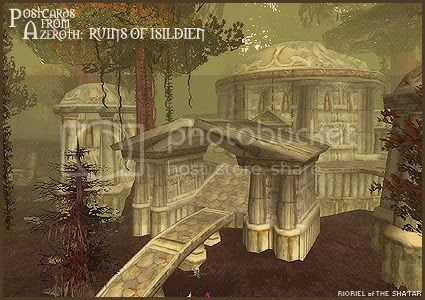 Postcards of Azeroth: Ruins of Isildien