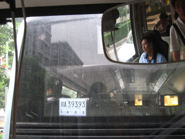 Asleep at the wheel (only during the red lights), Chengdu