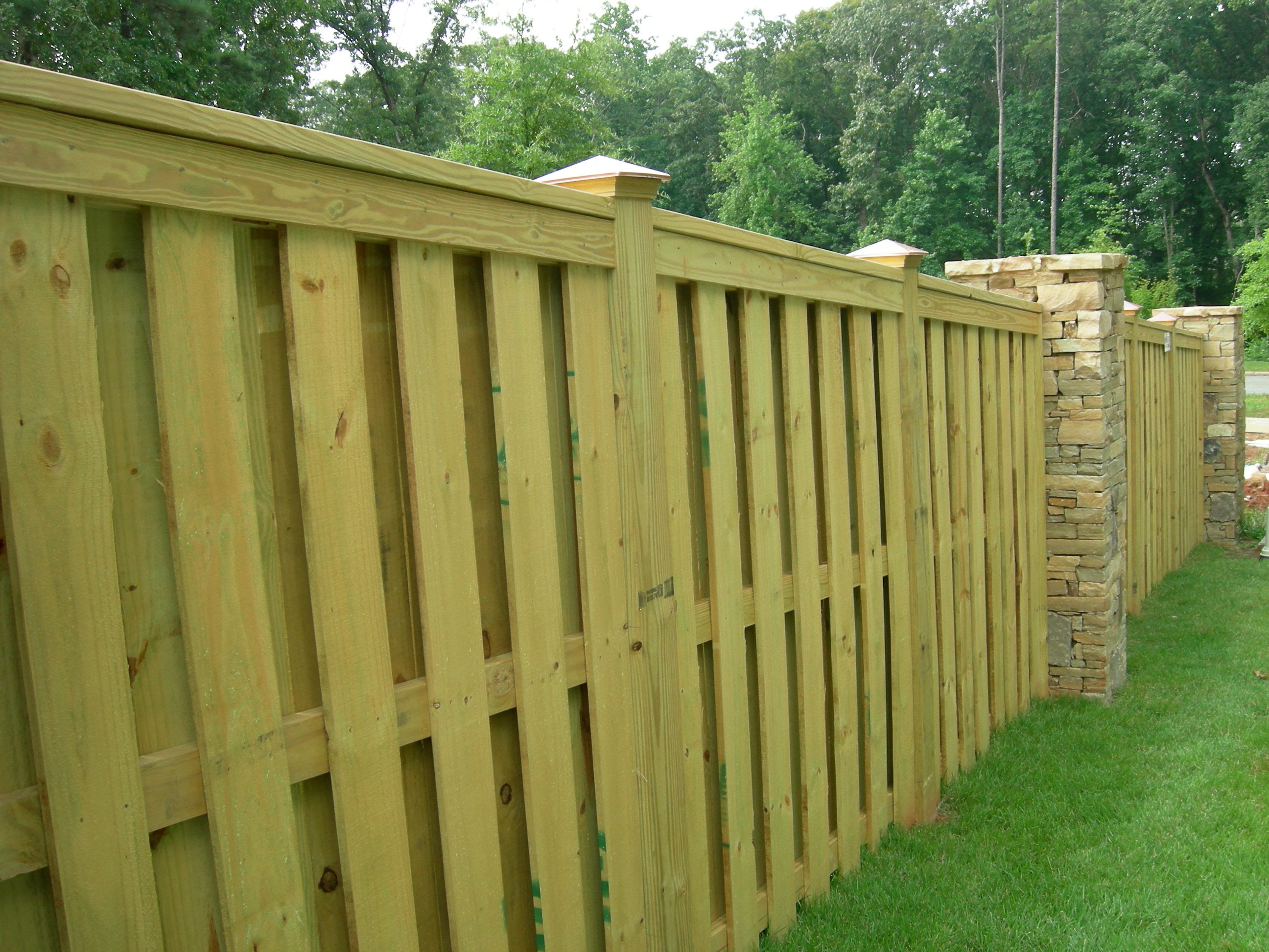 Wood Fences Wood Fence Designs Atlanta Fence pany