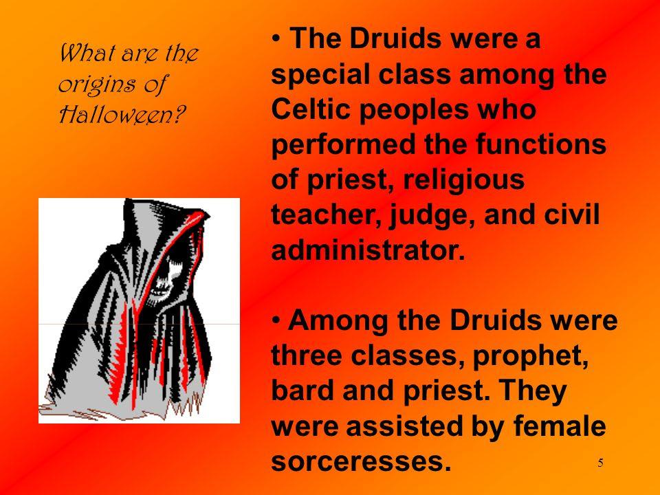 Image result for druid origin of Halloween
