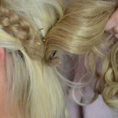 Kunsthaar Stylen Frisieren Extensions Haarteile Perücken