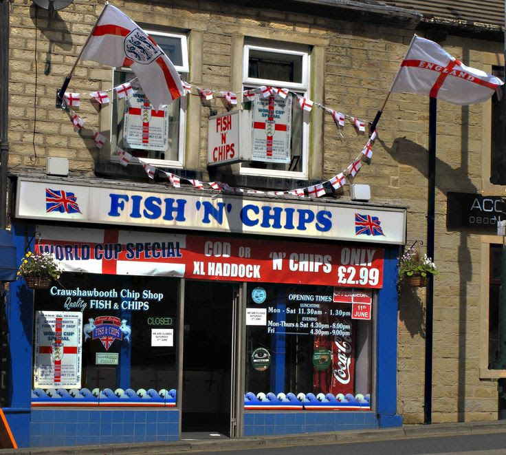 Crawshawbooth Chip Shop, Rossendale, Lancashire.