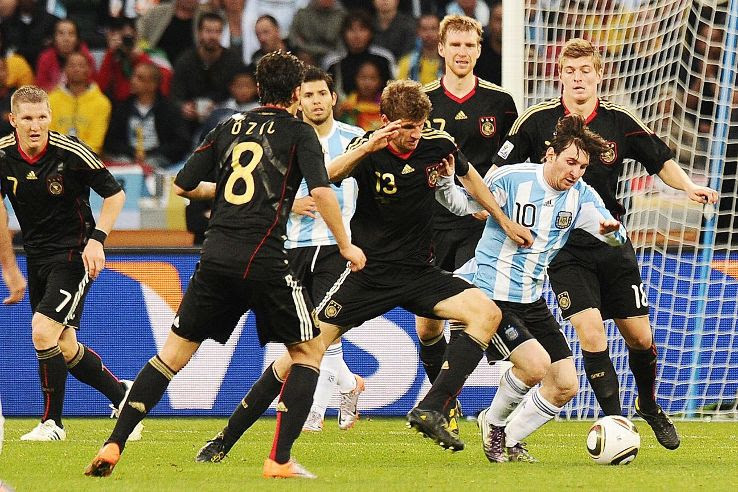 Coach Diego Maradona didn't seem to have a plan to make best use of Messi, who did not score even once at the 2010 World Cup.