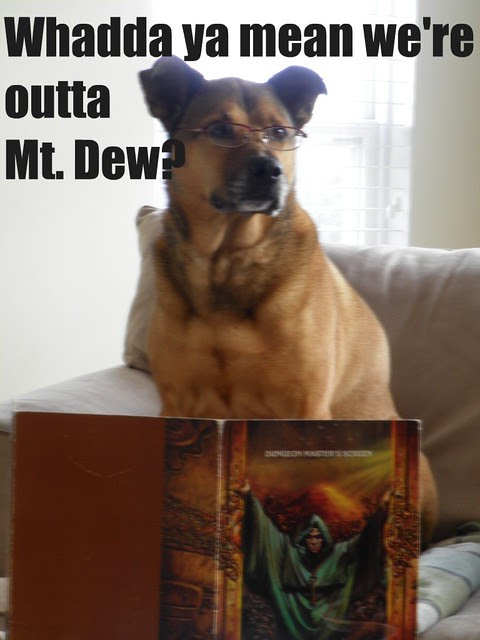 DM Dog - What do you mean we're out of Mountain Dew?