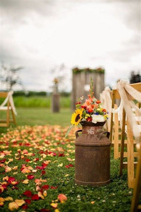 100 Fall Wedding Ideas You Will Love   Rustic Wedding